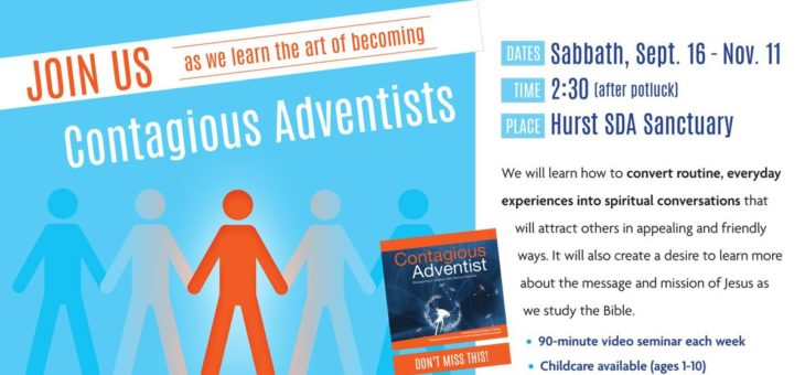 Contagious Adventist Seminar